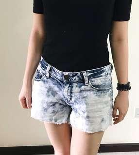 Light Washed Denim Shorts size 28 (M size)
