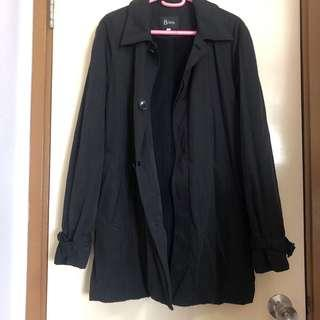 men's coat with fleece lining shoulder 0 chest 53 length 81