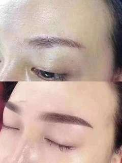 Natural Eyebrow Embroidery