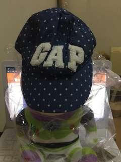 🚚 ✨全新正品✨gap kids s/m號點點女童棒球帽