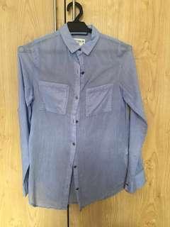 Lightweight Cotton On Blue Shirt