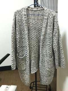 🚚 長版開襟針織衫 針織外套
