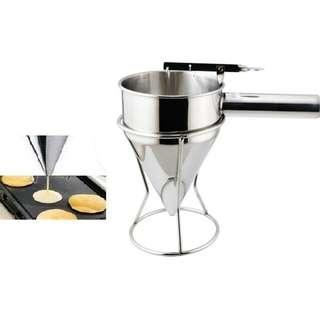 Batter funnel (for pancake,waffle,cake use) Stainless steel