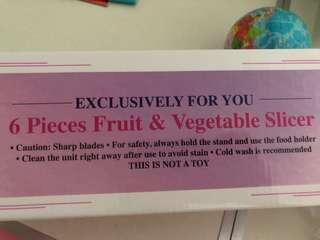 Fruit and vege slicer