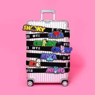 [PO] Line Friends BT21 Luggage Belt