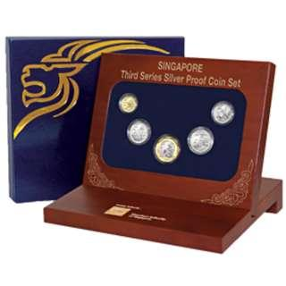 Singapore Mint Third Series Silver Proof Coin Sets