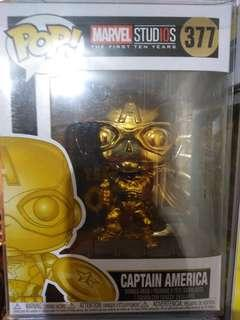 CAPTAIN AMERICA (Gold Chrome Ed.)