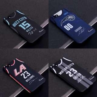 🏀預訂款式🏀NBA Magic Pistons Clippers Hornets City Jersey iphone case魔術 快艇 黃蜂 活塞手機殼