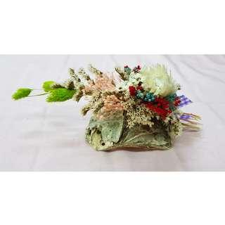 DIY Dry flower and shell craft
