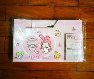 MY MELODY Stationery with box