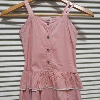 Rustanette Pink Dress (19.5inches long)