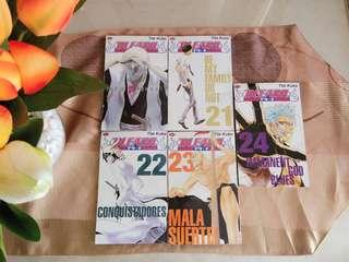 Bleach 21 - 24 Tite Kubo