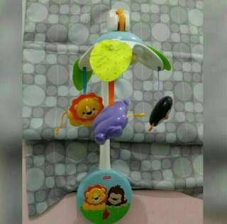 Fisher-Price: Precious Planet 2 in 1 Keywind Musical Mobile