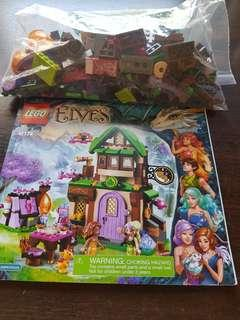Lego elves 41174 the starlight inn (complete) (rare, out of production)
