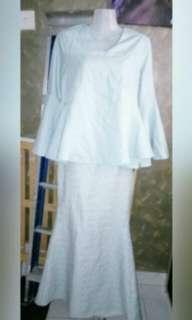 Bell Sleeve with Brocade Kain kurung