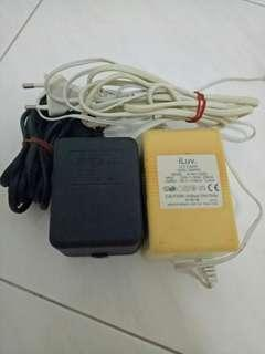 AC Adaptor 34-36 Volts and 15 volts