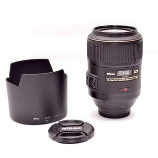 Nikkor AF-S VR Micro 105mm f/2.8G IF-ED
