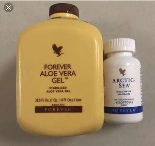 Forever Aloe Vera Gel+artic sea