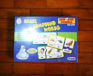 BASIC COMPOUND WORDS in puzzle form