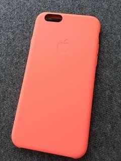 Original iphone 6/6s orange silicon case
