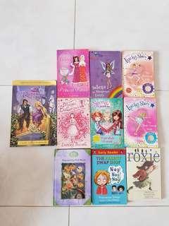 Books for Girls Rainbow Magic, Lucky Stars, secret kingkom, etc