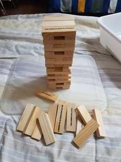 Drunken Tower Drink & Dare Blocks