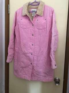 Ladies 100%cotton coat shoulder 43 chest 52 length 81