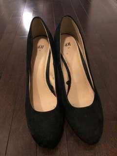 Black shoes size 41 UK