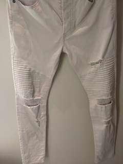 Trousers mens beige