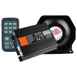 200W Talking Siren Wireless Remote Control