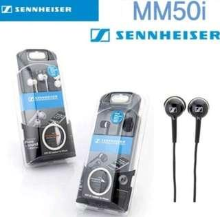 Sennheiser MM 50 iPhone Headset with Microphone
