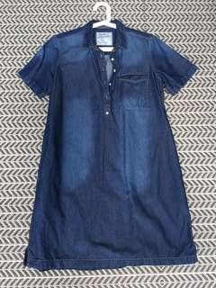 Padini Authentics dressXL size deep blue colour