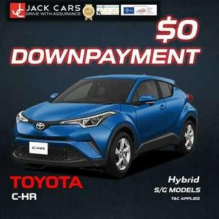 Toyota C-HR Hybrid 1.8 S LED Edition (A)