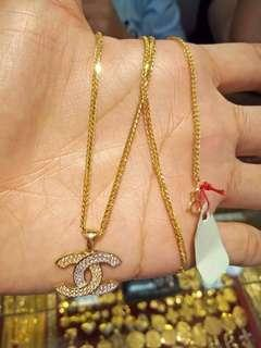 chanel necklace inspired