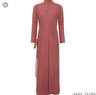 Uniqlo X Hana Tajima Rayon Wrap Long Dress