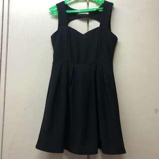 Little Black Dress Open Back