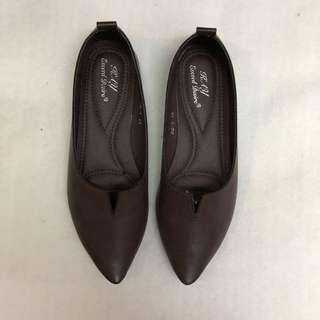 Dark Brown Comfy Closed Shoes