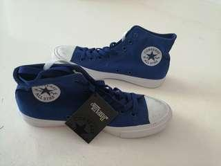Converse Blue Chuck Taylor All Star sneakers with tag