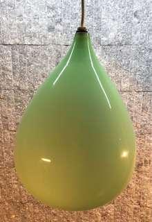Jade Colored Pendant Ceiling Lamp