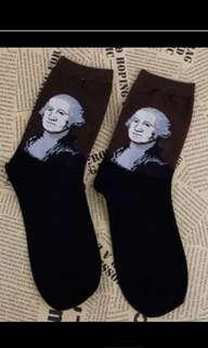 Fashionable Art Time Capsules Socks