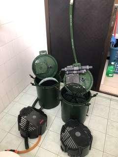 EHEIM canister 2 unit