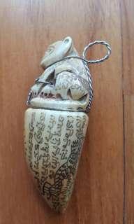 Palakit by LP Sawai. Wat Preedaram. Nice condition and rare material. Interested pm