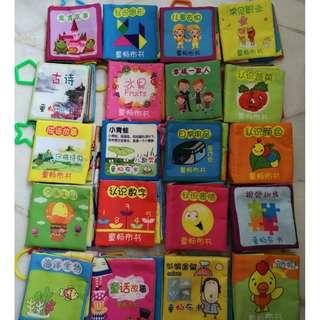 20 Cloth Book for Toddler