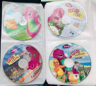 Barney VCDs (11 pcs)
