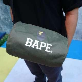 A Bathing Ape Military Green Duffle Bag (Smart Magazine Appendix)