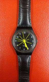 SWATCH ORIGINAL GB179 / MUSTARD