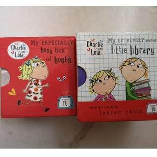 Charlie and Lola Board Books