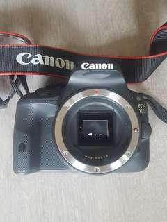 Canon EOS 100D (Body) incl. SD card, Canon bag and charger