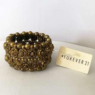 Forever21 Genuine Rose Bracelet. New With Tag