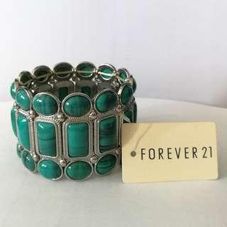 Forever21 Genuine Turquoise Bracelet. New With Tag